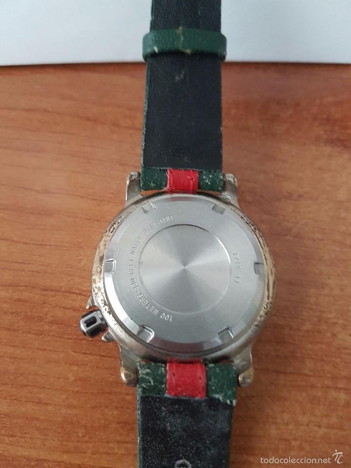 Relojes - Fossil: Reloj de caballero marca FSL (Fossil) de cuarzo con correa de cuero - Foto 5 - 58217648
