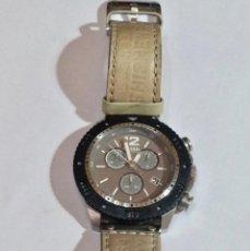 Relojes - Fossil: ORIGINAL FOSSIL JR-1203. CRONO , CALENDARIO, ALL ACERO .. Lote 128892791