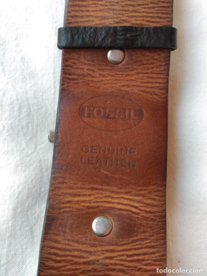 Relojes - Fossil: RELOJ Y CORREA FOSSIL. VARIANTE DE SEGUNDERO. - Foto 3 - 129183507
