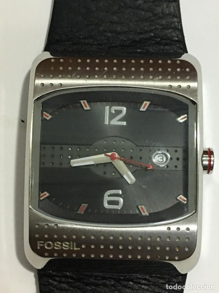 RELOJ FOSSIL JR-9390 HOMBRE QUARZO EN ACERO Y CORREA DE PIEL CON SU CAJA (Relojes - Relojes Actuales - Fossil)