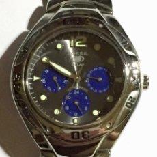 Relojes - Fossil: FOSSIL BLUE BQ9092 - MULTIFUNCION,TODO DE ACERO, PULSERA MAX 185 M/M.CAJA 41,7 M/M.C/C.. Lote 155609069