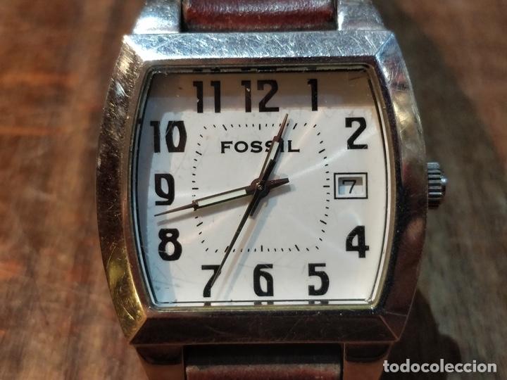 Relojes - Fossil: Reloj fossil - Cuarzo, calendario - funcionando. - Foto 2 - 27517923