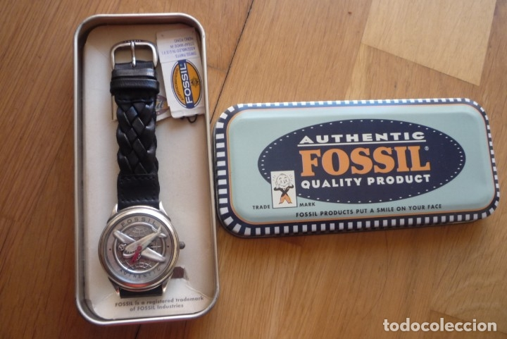 FOSSIL AUTHENTIC VINTAGE,NUEVO,GR9014. (Relojes - Relojes Actuales - Fossil)