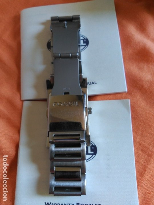 Relojes - Fossil: RELOJ FOSSIL ARKITEKT FS-2890 CON CAJA ORIGINAL APENAS USADO - Foto 4 - 178711605