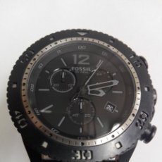 Relojes - Fossil: RELOJ FOSSIL JR 1202 .CRONOGRAFO EN ACERO INOX. NUEVO. CORREA DE PIEL. BATERIA NUEVA. Lote 183909778