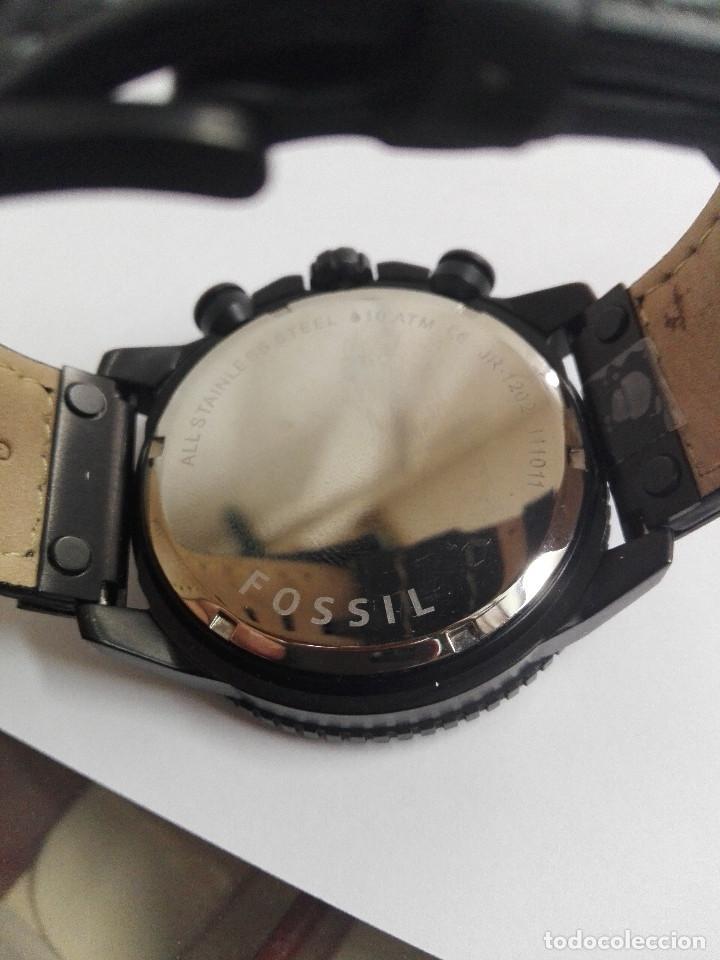 Relojes - Fossil: RELOJ FOSSIL JR 1202 .CRONOGRAFO EN ACERO INOX. NUEVO. CORREA DE PIEL. BATERIA NUEVA - Foto 7 - 183909778