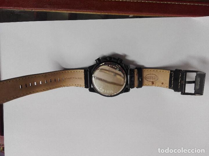 Relojes - Fossil: RELOJ FOSSIL JR 1202 .CRONOGRAFO EN ACERO INOX. NUEVO. CORREA DE PIEL. BATERIA NUEVA - Foto 11 - 183909778