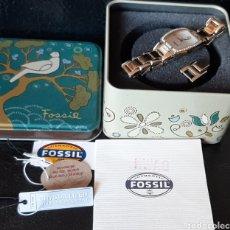 Relógios - Fossil: RELOJ MUJER FOSSIL F2 ES-1403 50 METERS /165 FEET NUEVO EN CAJA CON ETIQUETA FUNCIONA BIEN. Lote 194691952