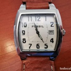 Relojes - Fossil: RELOJ FOSSIL JR 8291 CORREA DE PIEL ORIGINA W R 30 METROS, FUNCIONANDO. Lote 209125605
