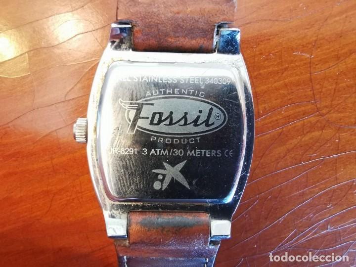 Relojes - Fossil: RELOJ FOSSIL JR 8291 CORREA DE PIEL ORIGINA W R 30 METROS, FUNCIONANDO - Foto 6 - 209125605