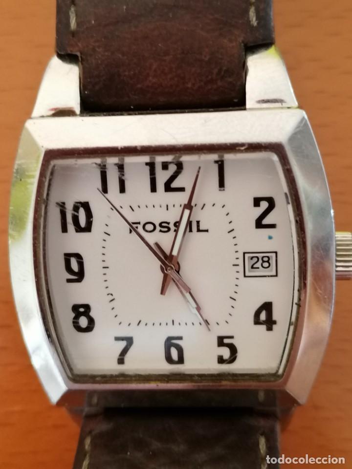 RELOJ FOSSIL JR-8291 ** COLECCION EXCLUSIVA LA CAIXA * ESFERA DE 3,5X3 CM (Relojes - Relojes Actuales - Fossil)