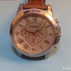 Relojes - Fossil: OROLOGIO DA POLSO UOMO FOSSIL 5 ATM IN ACCIAIO AL QUARZO. Lote 213339710