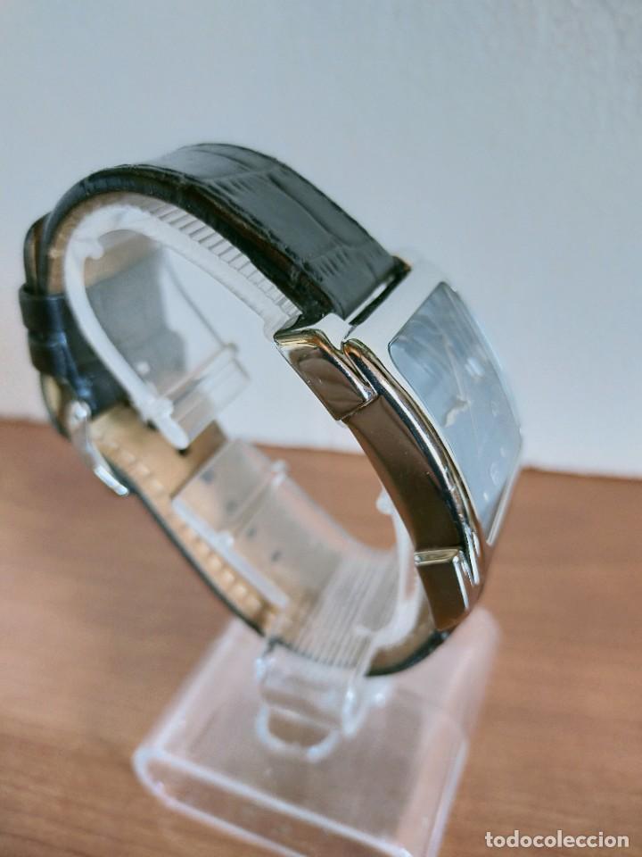 Relojes - Fossil: Reloj caballero FOSSIL de cuarzo acero con calendario a las tres horas, correa cuero negra segunda - Foto 7 - 213644068
