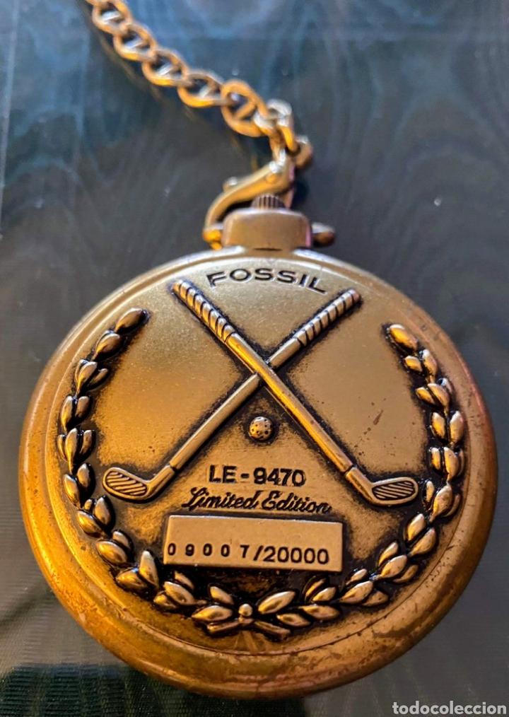 Relojes - Fossil: RELOJ FOSSIL LE–9470 LIMITED EDITION CON ESTUCHE DE MADERA - Foto 6 - 239833530
