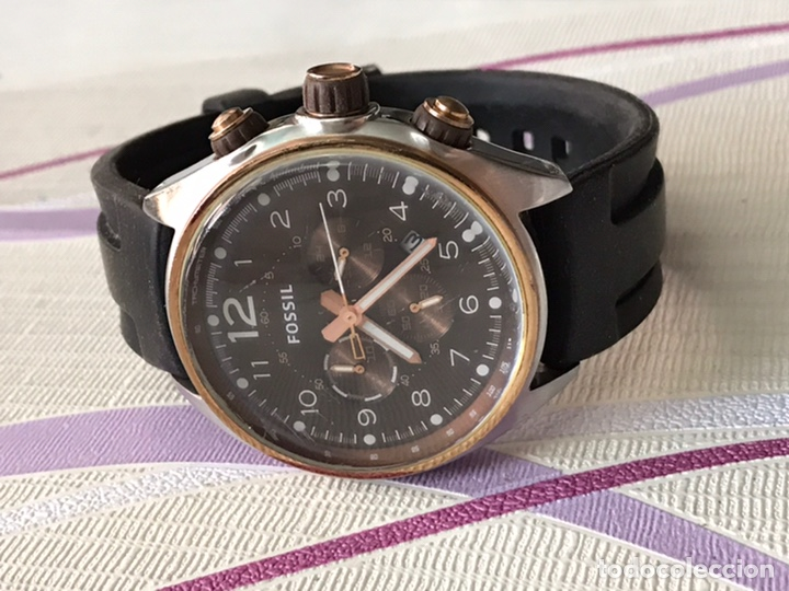 RELOJ FOSSIL CH-2727 REF 251105 CUARZO CALENDARIO CABALLEROS (Relojes - Relojes Actuales - Fossil)