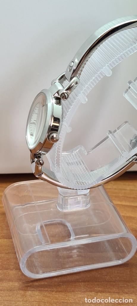 Relojes - Fossil: Reloj señora cuarzo FOSSIL de acero, esfera blanca con números acero luminiscentes, correa de acero - Foto 2 - 280873173
