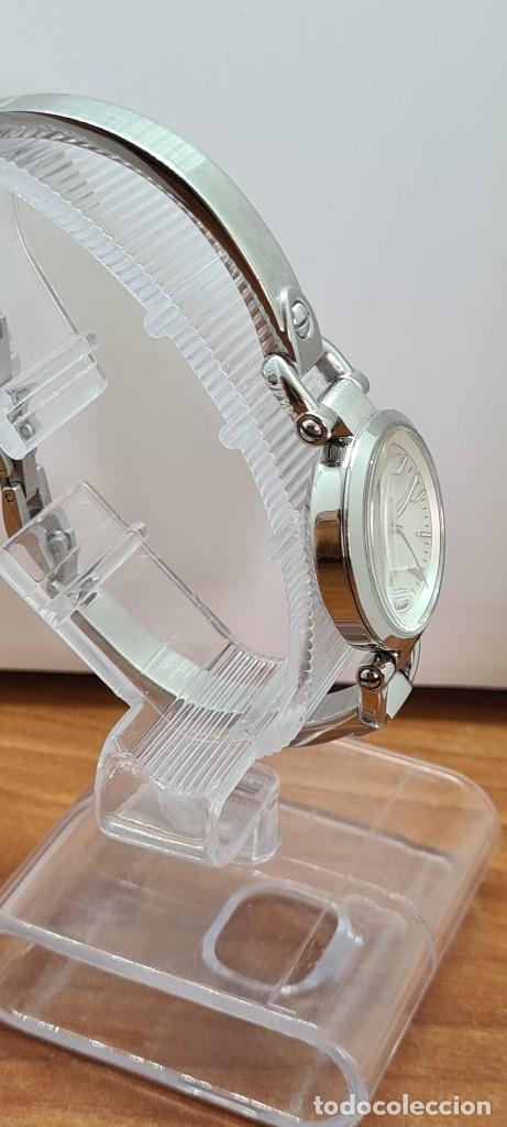 Relojes - Fossil: Reloj señora cuarzo FOSSIL de acero, esfera blanca con números acero luminiscentes, correa de acero - Foto 11 - 280873173