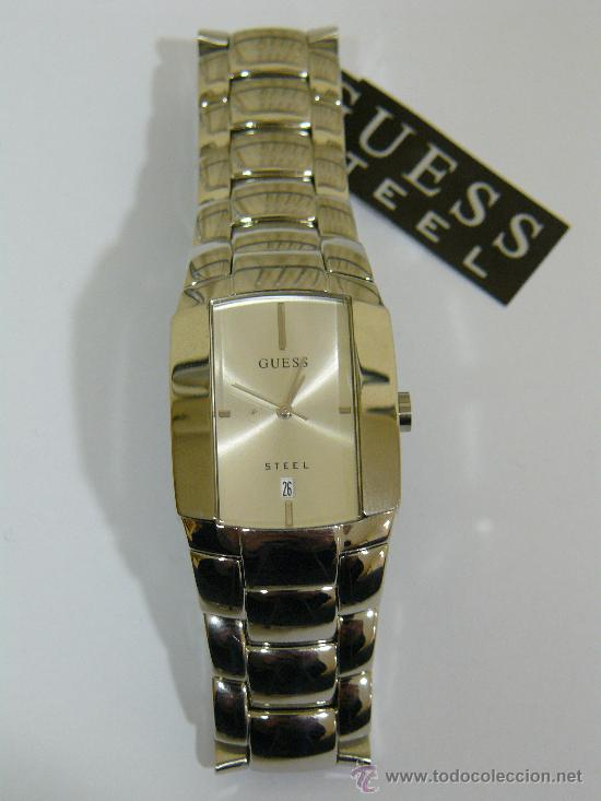 076f9047fb3e Watches - Guess  RELOJ GUESS DE ACERO PARA HOMBRE. MADE IN JAPAN. NUEVO