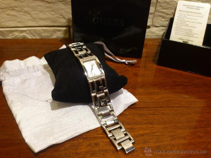 Relojes - Guess: GUESS - RELOJ PULSERA - MUJER - ORIGINAL - LATTICE G W95072L1 - CUARZO - BRAZALETE DE ACERO - Foto 11 - 41238238