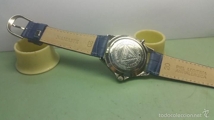 Relojes - Guess: Reloj de caballero acero cuarzo marca Guess con correa de cuero nueva - Foto 4 - 56571352