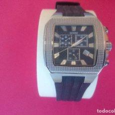 Relojes - Guess: BONITO RELOJ DE CABALLERO MARCA GUESS, QUARTZ - ORIGINAL- NUEVO A ESTRENAR ( VER 9 FOTOS) ... R-3589. Lote 65072359