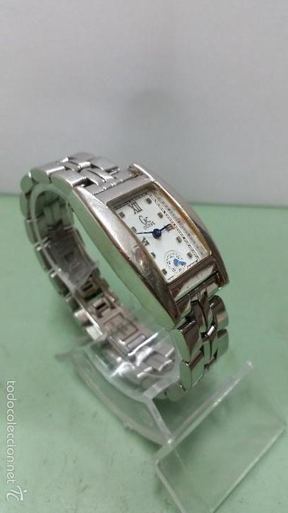 Relojes - Guess: Reloj señora Guess cuarzo de acero con correa de acero solida original y segundero a las 6 - Foto 2 - 57119887