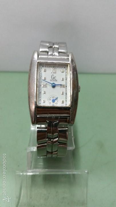Relojes - Guess: Reloj señora Guess cuarzo de acero con correa de acero solida original y segundero a las 6 - Foto 3 - 57119887