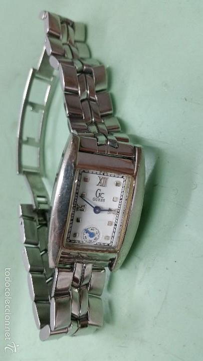 Relojes - Guess: Reloj señora Guess cuarzo de acero con correa de acero solida original y segundero a las 6 - Foto 4 - 57119887