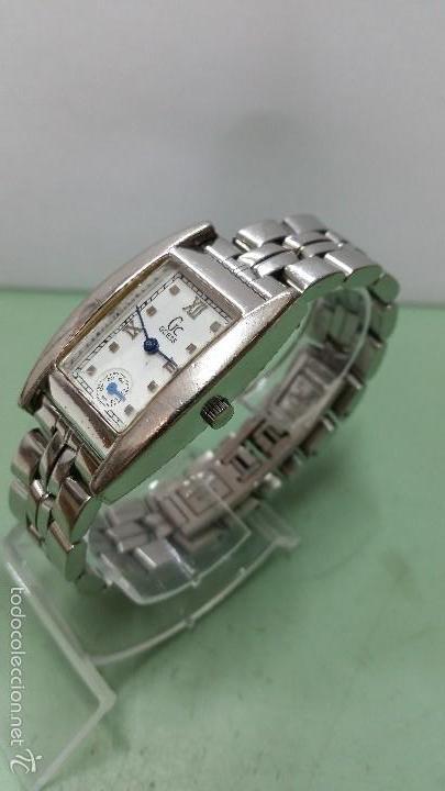 RELOJ SEÑORA GUESS CUARZO DE ACERO CON CORREA DE ACERO SOLIDA ORIGINAL Y SEGUNDERO A LAS 6 (Relojes - Relojes Actuales - Guess)