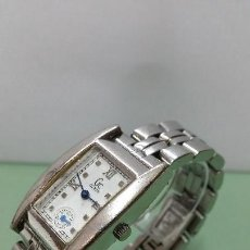 Relojes - Guess: RELOJ SEÑORA GUESS CUARZO DE ACERO CON CORREA DE ACERO SOLIDA ORIGINAL Y SEGUNDERO A LAS 6. Lote 57119887