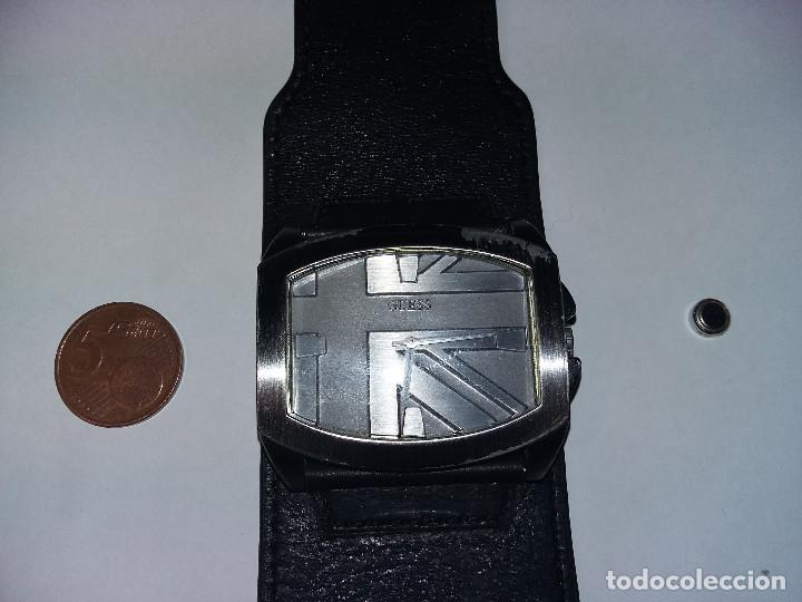 Relojes - Guess: RELOJ Guess Flag W90032G1 CON CORREA DE PIEL- FUNCIONA - Foto 6 - 70987269
