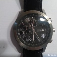 Relojes - Guess: RELOJ GUESS STEEL IMPECABLE...USADO SOLO UNA VEZ. Lote 100082439