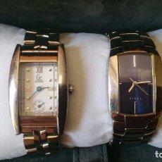 Relojes - Guess: 2 RELOJES GUESS PARA MUJER, CON ESTUCHE DE GUESS.. Lote 101003191