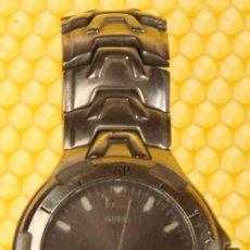 Relojes - Guess - reloj guess hombre, funciona, cristal rayado. - 109742519