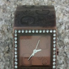 Relojes - Guess: ELEGANTE RELOJ GUESS CON ORIGINAL CADENA DE ACERO Y BRILLANTES O SIMILAR NO MOSTRADOR. Lote 140114234