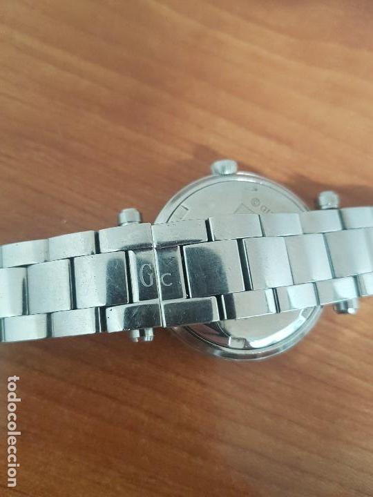 Relojes - Guess: Reloj GUESS de cuarzo con máquina Suiza multifunción, esfera de nacar, corona rosca, correa original - Foto 13 - 142988570