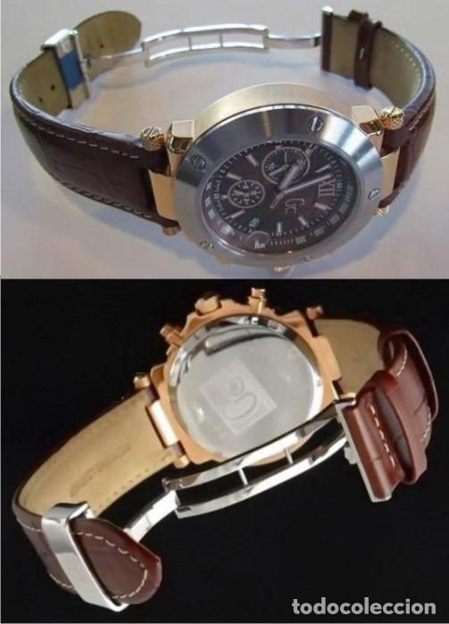 Relojes - Guess: RELOJ HOMBRE GUESS COLLECTION GC I45003G1 ACERO IP ROSA PVP 600 €.. - Foto 3 - 151392862