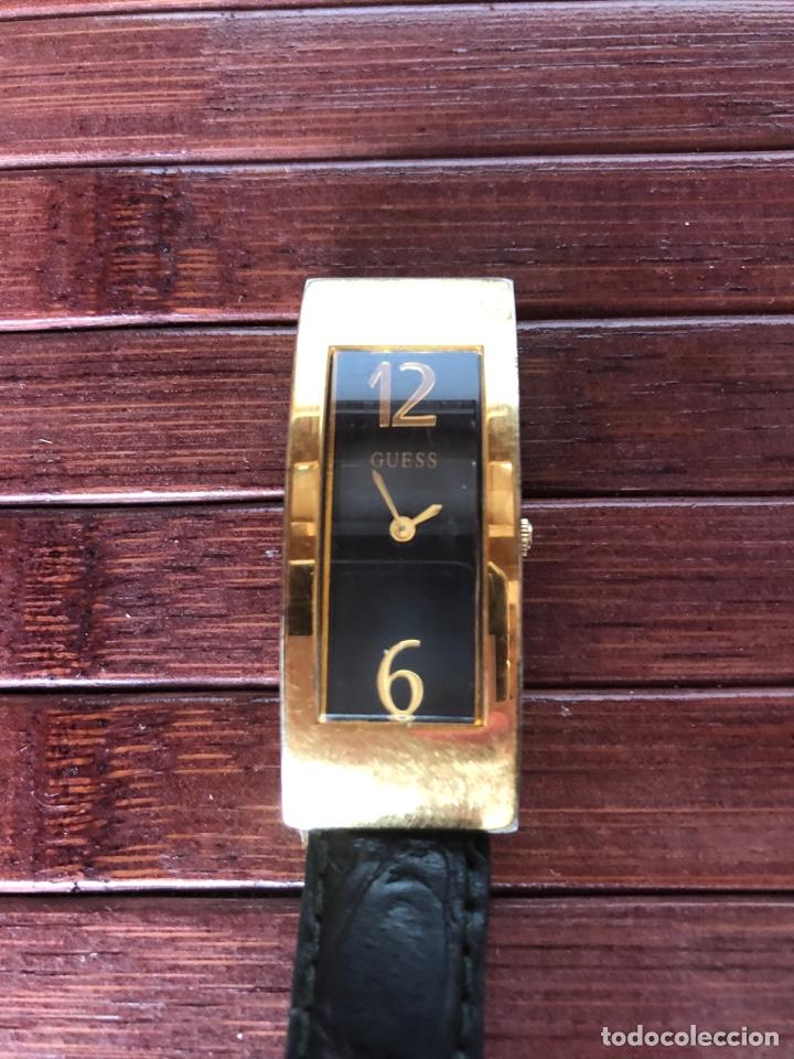 Relojes - Guess: PRECIOSO RELOJ MARCA GUESS RELOJ MUJER CHAPADO EN ORO AÑOS 90 - Foto 2 - 156527725