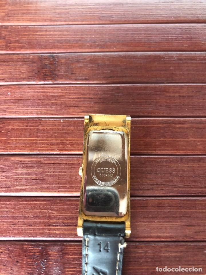 Relojes - Guess: PRECIOSO RELOJ MARCA GUESS RELOJ MUJER CHAPADO EN ORO AÑOS 90 - Foto 3 - 156527725