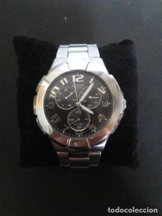 Relojes - Guess: reloj guess caballero cuarzo.exelente estado - Foto 2 - 159145338