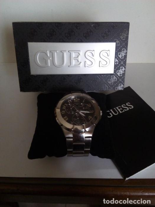 Relojes - Guess: reloj guess caballero cuarzo.exelente estado - Foto 3 - 159145338