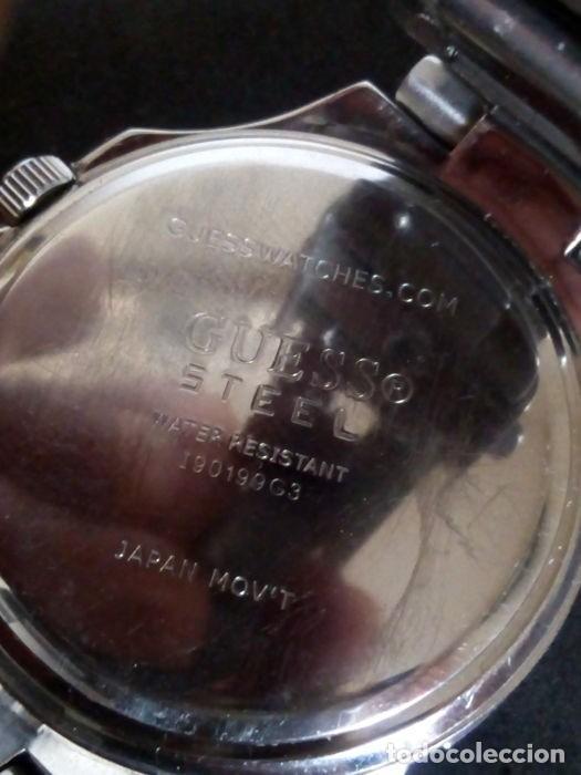 Relojes - Guess: reloj guess caballero cuarzo.exelente estado - Foto 7 - 159145338