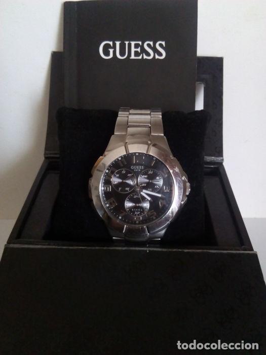 Relojes - Guess: reloj guess caballero cuarzo.exelente estado - Foto 9 - 159145338