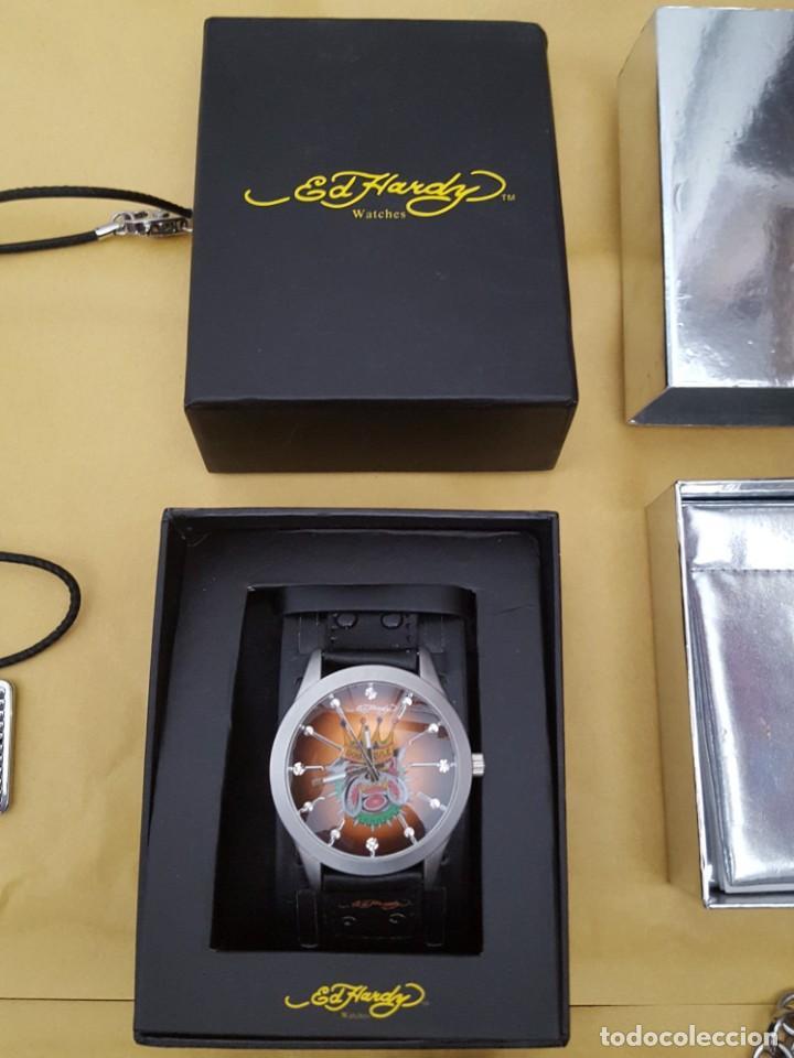 Relojes - Guess: EXTRAORDINARIO LOTE DE RELOJES Y OTROS GUESS, D&G, DIESEL, ARMANI, VANS, ED HARDY, ANTONI MORATO, - Foto 10 - 168773032