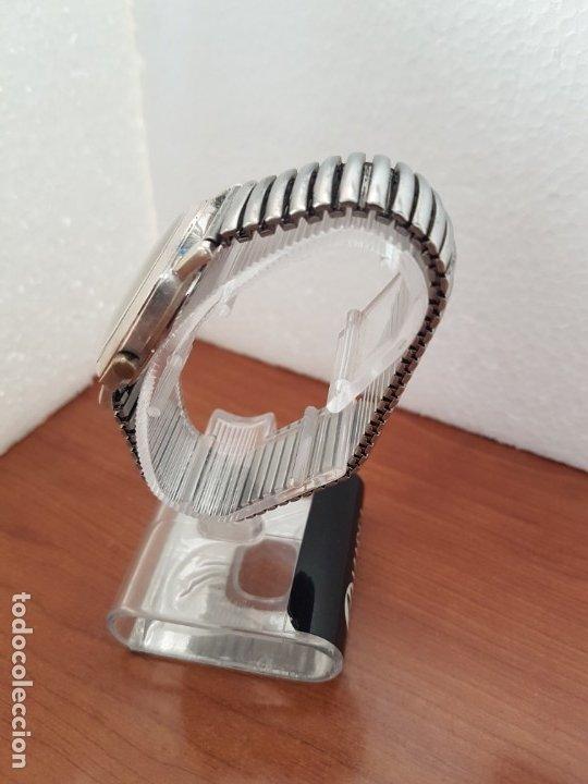 Relojes - Guess: Reloj caballero GUESS de cuarzo en acero, esfera muy bonita mirar fotos con correa acero de estirar, - Foto 5 - 172548387
