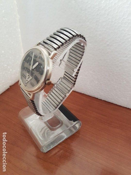 Relojes - Guess: Reloj caballero GUESS de cuarzo en acero, esfera muy bonita mirar fotos con correa acero de estirar, - Foto 10 - 172548387