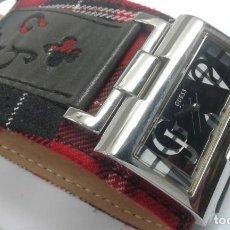 Relojes - Guess: RELOJ GUESS DE SEÑORA CORREA DE PIEL NUEVO. Lote 199780196