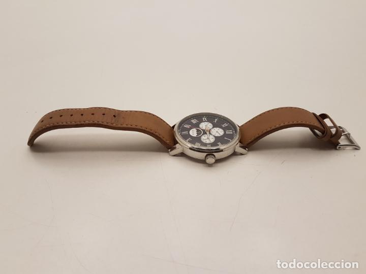 Relojes - Guess: RELOJ GRANDE GUESS, WATER RESISTANT, (POCO USO), FUNCIONA - Foto 4 - 210055835