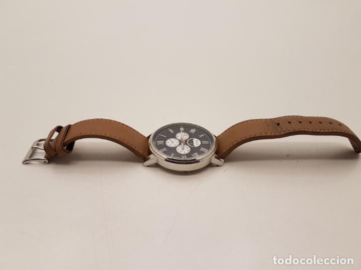 Relojes - Guess: RELOJ GRANDE GUESS, WATER RESISTANT, (POCO USO), FUNCIONA - Foto 6 - 210055835