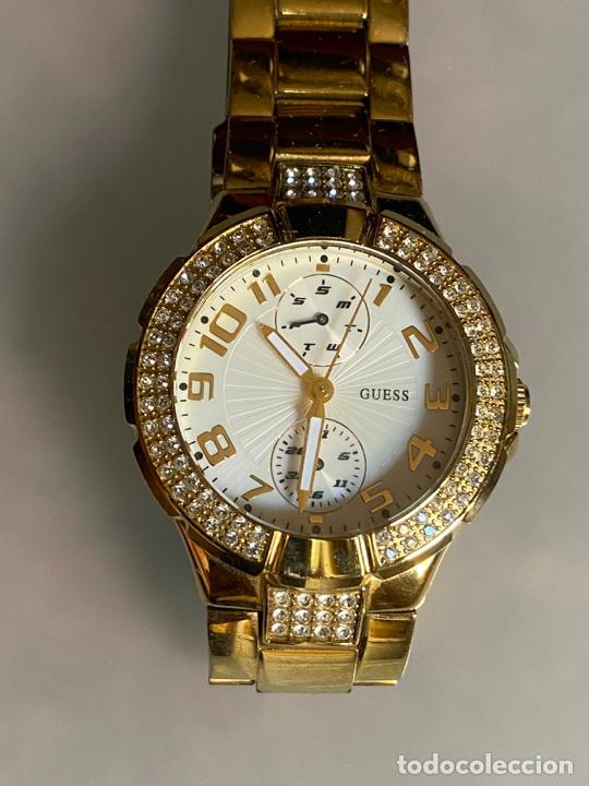 Relojes - Guess: reloj guess , cuarzo , funcionando - Foto 3 - 212767826